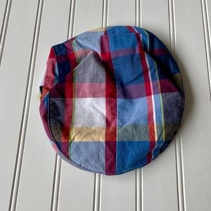 Janie and Jack | Plaid Newsboy Cap